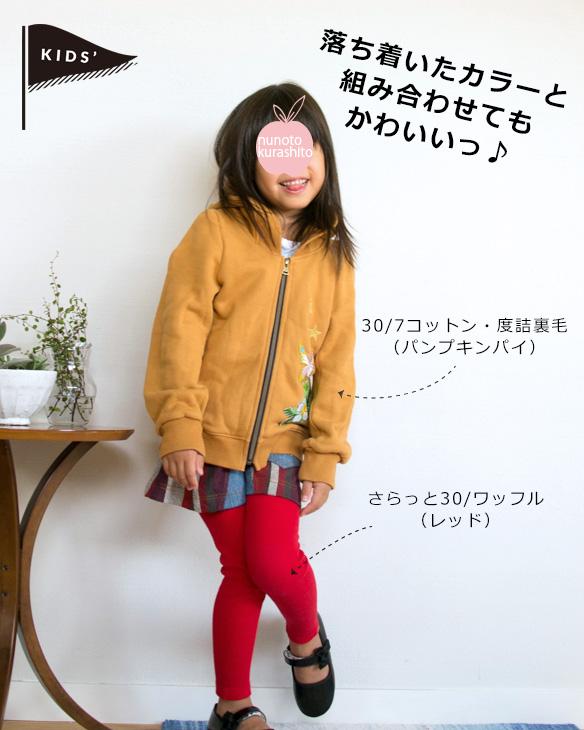 【布帛】ランダムボーダー(レッド/パープル系)