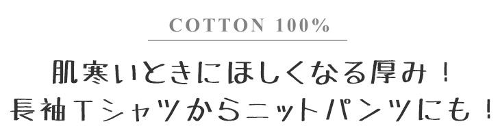 20/2 コットン天竺