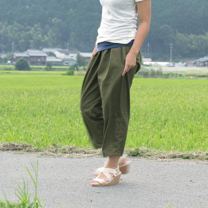 【布帛】T/Cオールドカラーデニム(キャラメル)