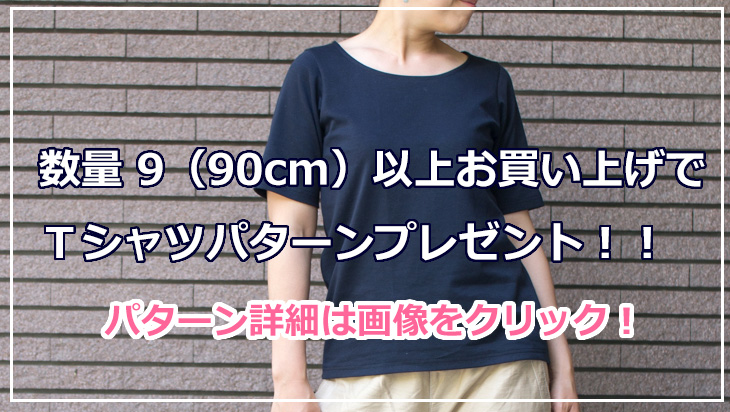 【プレゼントパターン】ポンチで作るTシャツ
