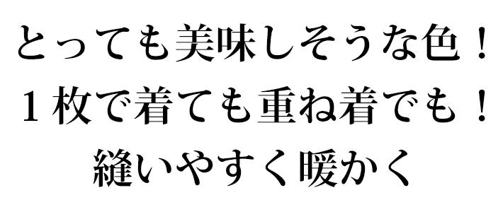 【ニット】40/20ミニ裏毛・裏起毛(チョコレート